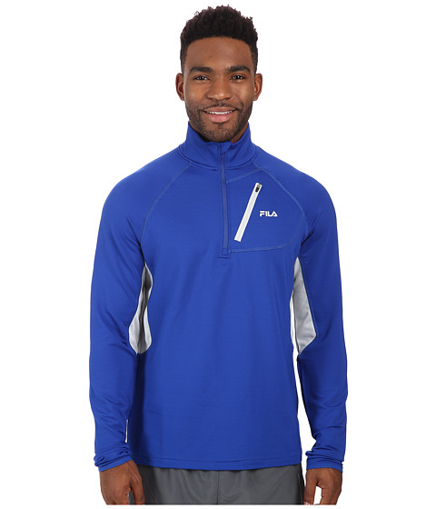 Fila - Skyline Half Zip (Surf The Web/High Rise) Men
