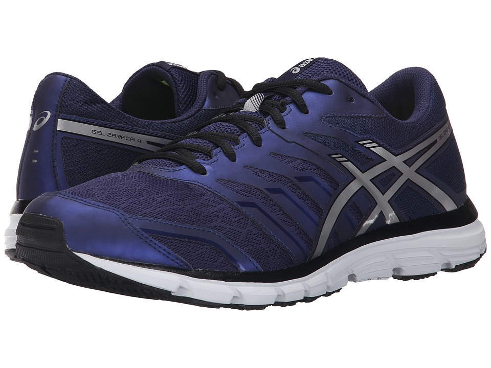 ASICS - Gel-Zaraca 4 (Indigo Blue/Silver/Black) Men's Shoes