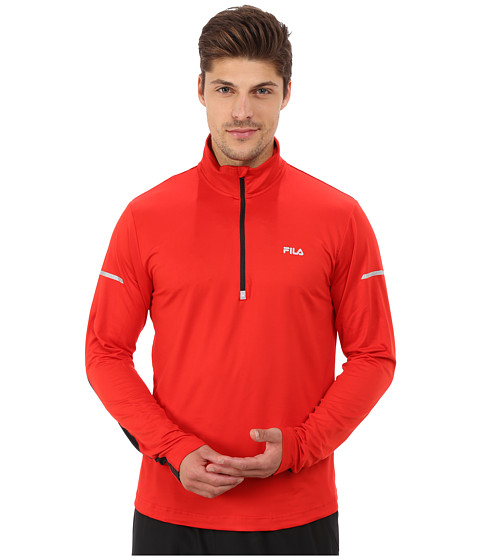 Fila - Windrunner Performance Half Zip (Formla One/Black) Men
