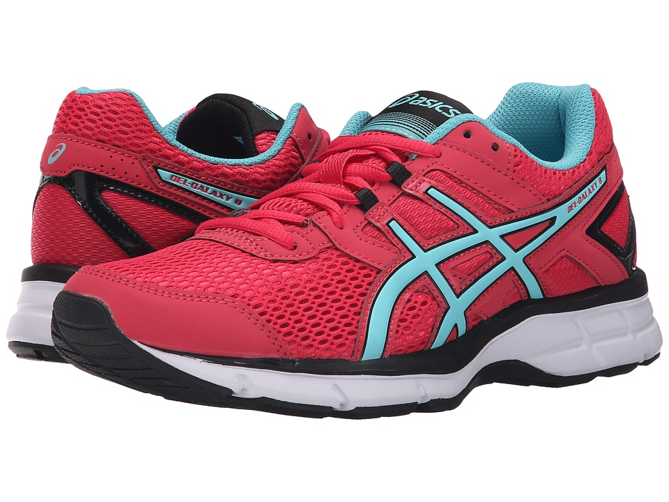 ASICS - Gel-Galaxy 8 (Azalea/Turquoise/Black) Women's Shoes