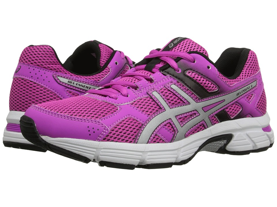 ASICS - Gel-Essent 2 (Pink Glow/Silver/Black) Women's Shoes