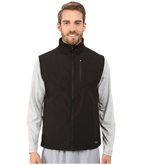 Fila - Tech Vest (Black/Castlrock) Men's Vest