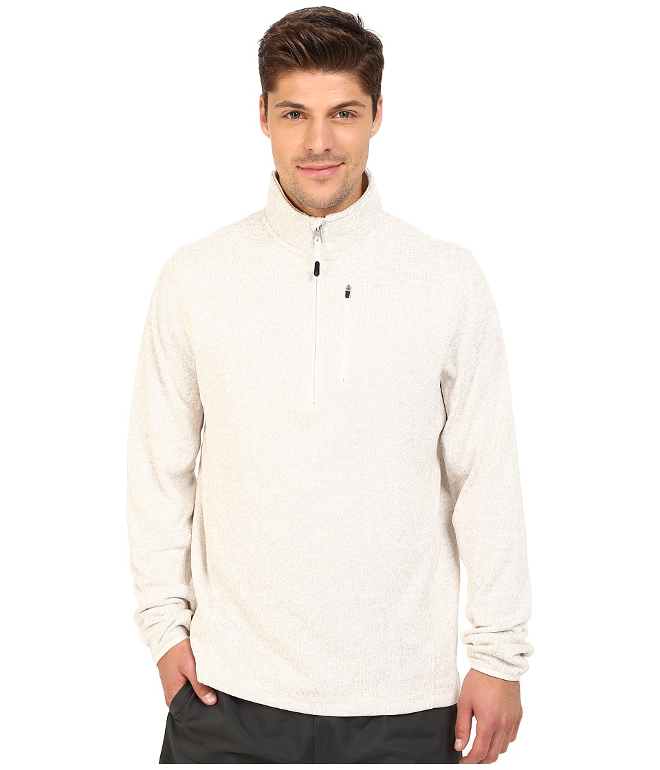 Fila - Sweather Half Zip (Oatmeal Heather) Men