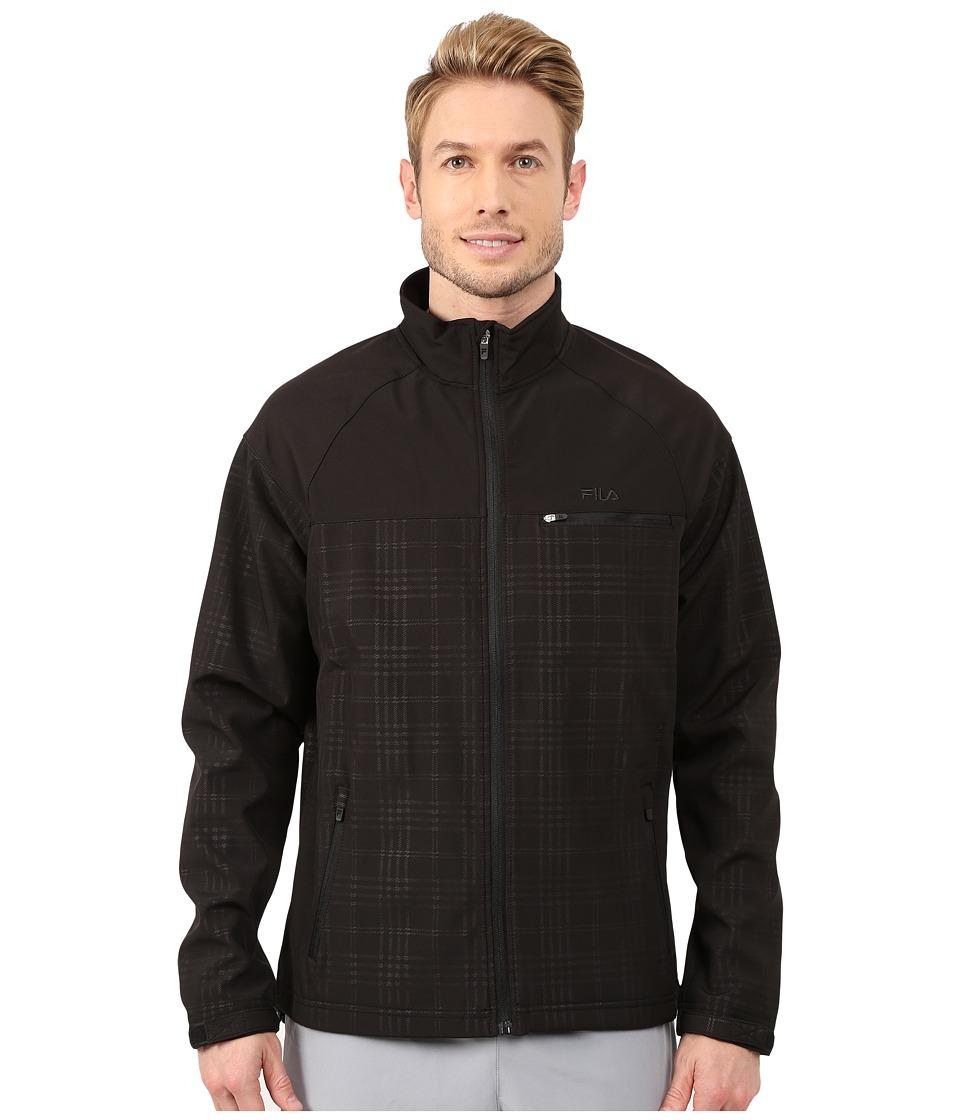 Fila - Elevation Jacket (Black/Black) Men