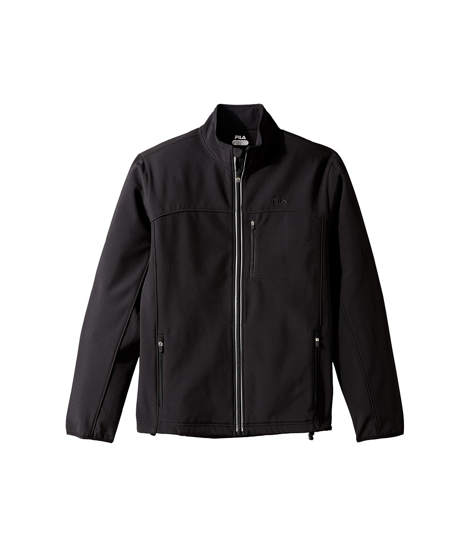 Fila - Adventure Jacket (Black/Black) Men