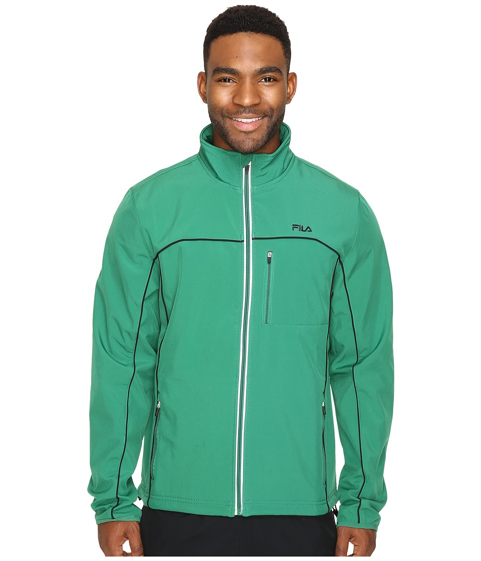 Fila - Adventure Jacket (Verdant Green/Black) Men's Coat