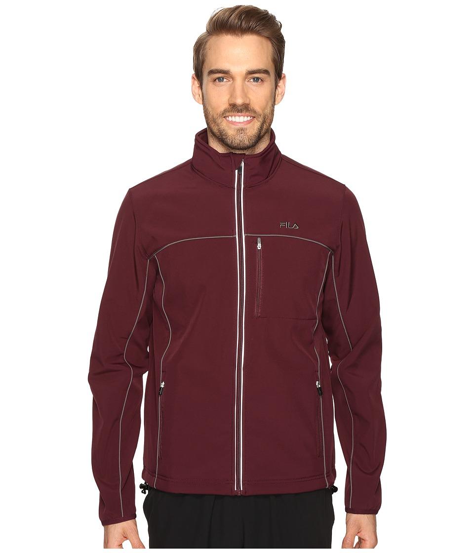 Fila - Adventure Jacket (Wine Tasting/Castlerock) Men's Coat