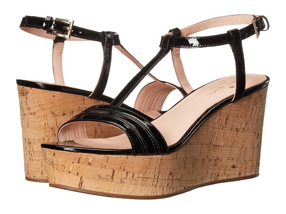 Kate Spade New York - Tallin (Black Patent) Women's Shoes