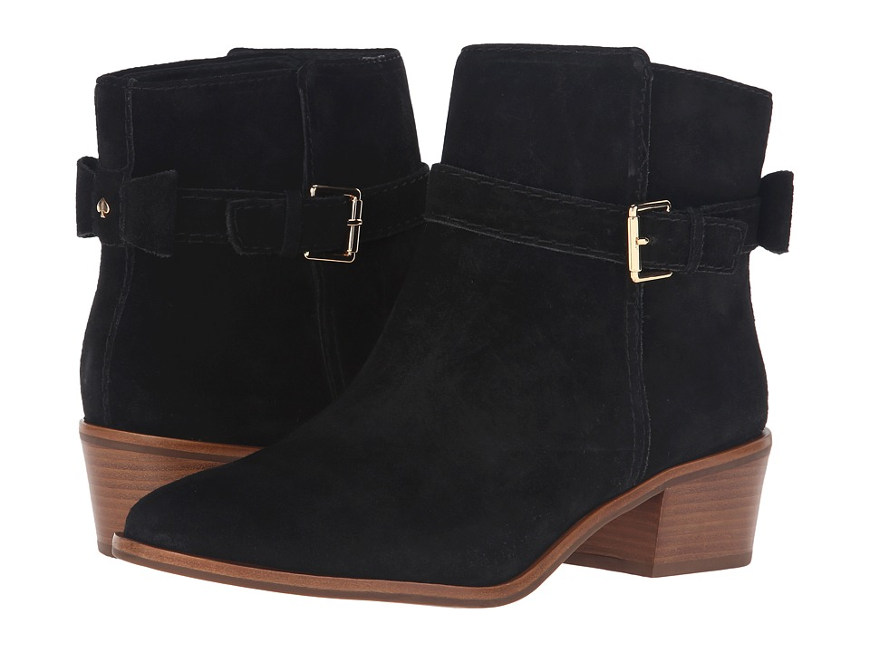 Kate Spade New York Taley Black Sport Suede Boots
