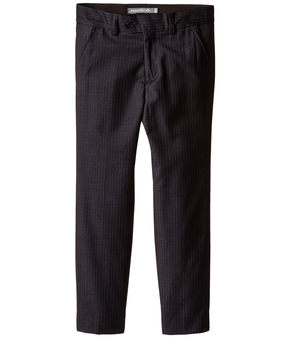Appaman Kids - Suit Pants (Toddler/Little Kids/Big Kids) (Black Pinstripe) Boy's Casual Pants