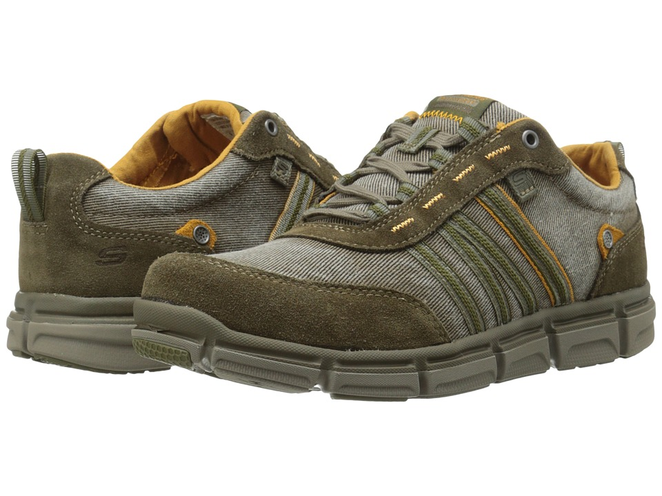 SKECHERS Broger Kenster (Olive) Men