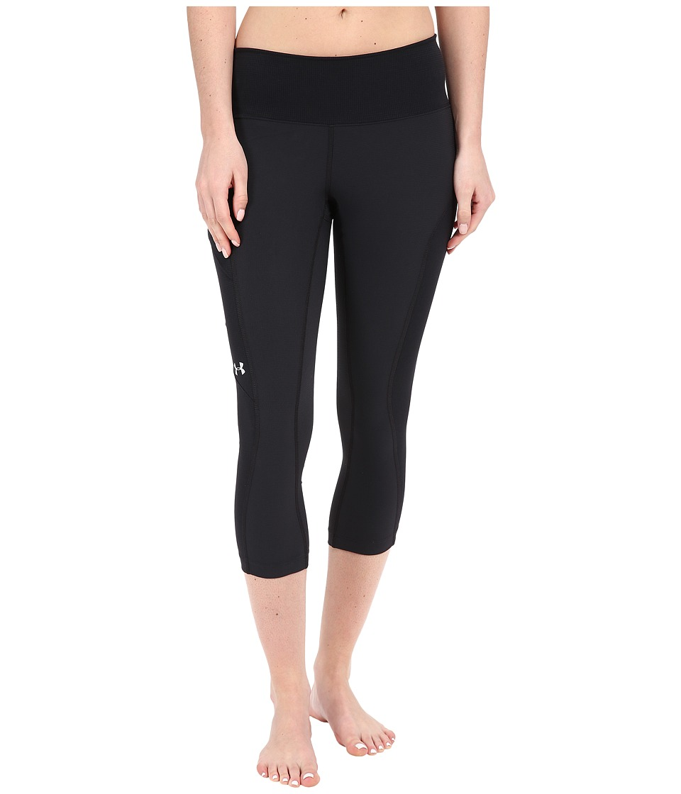Under Armour - UA Armourvent Trail Capri Pants (Black) Women's Capri