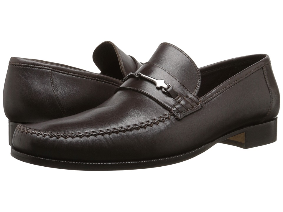 Bruno Magli - Pittore (Dark Brown) Men's Slip on Shoes