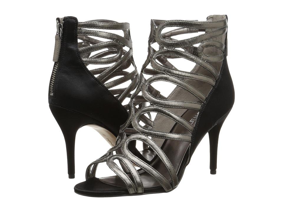 Nine West - Yolo (Pewter/Black) High Heels