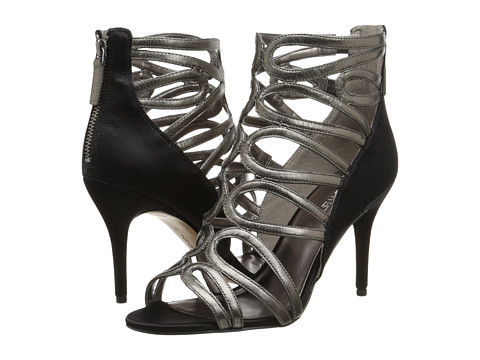 Nine West - Yolo (Pewter/Black) High Heels