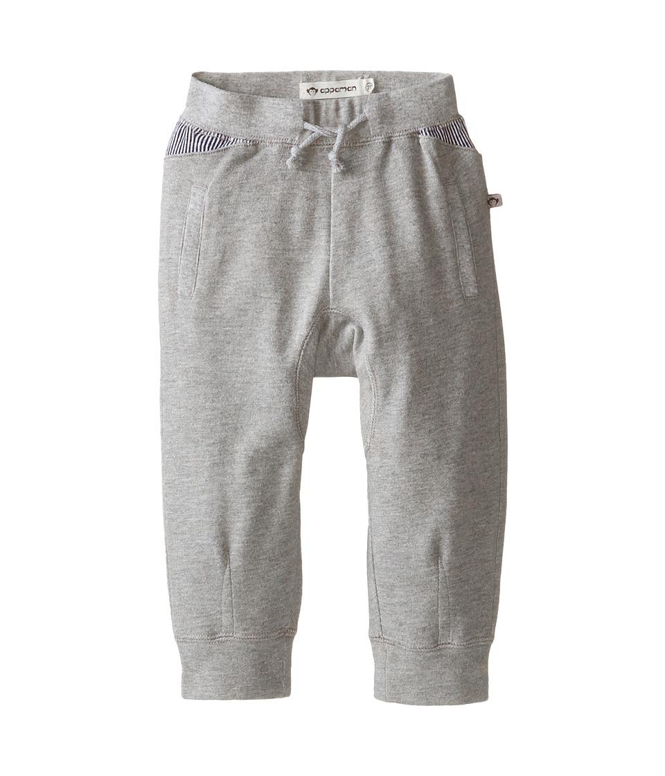 Image of Appaman Kids - AJ Pants (Toddler/Little Kids/Big Kids) (Light Grey Heather) Boy's Casual Pants