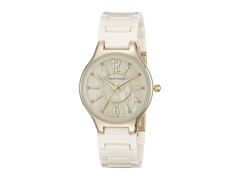 Anne Klein - AK-2182IVGB (Cream) Watches