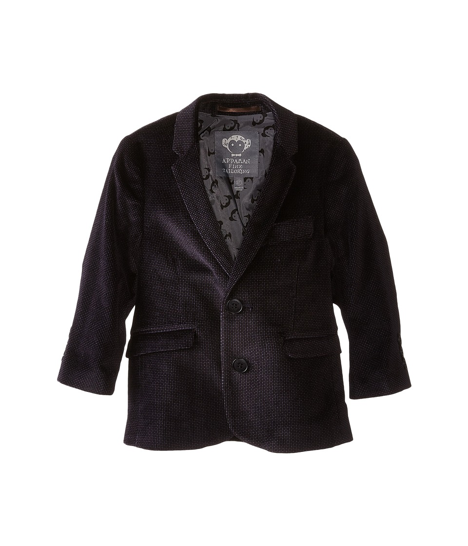 Appaman Kids - Fully Lined Velvet Blazer (Toddler/Little Kids/Big Kids) (Purple Velvet) Boy