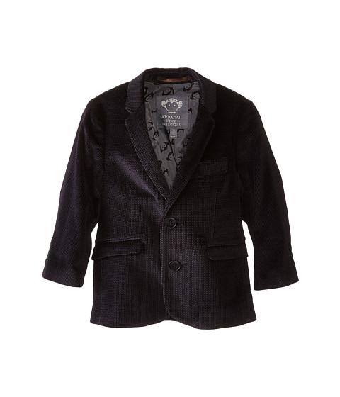 Appaman Kids - Fully Lined Velvet Blazer (Toddler/Little Kids/Big Kids) (Purple Velvet) Boy's Jacket