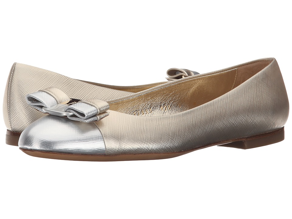 Salvatore Ferragamo - Varina (Moon Tissi Calf) Women's Slip on Shoes