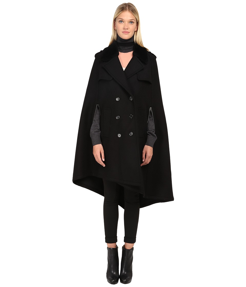 Neil Barrett - Sheepskin Coat (Black) Women's Coat