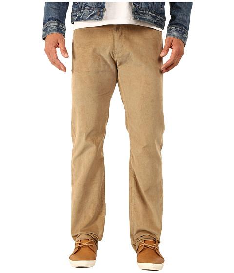 Dockers Men's - 5-Pocket Straight (Corduroy - Carmel) Men's Casual Pants