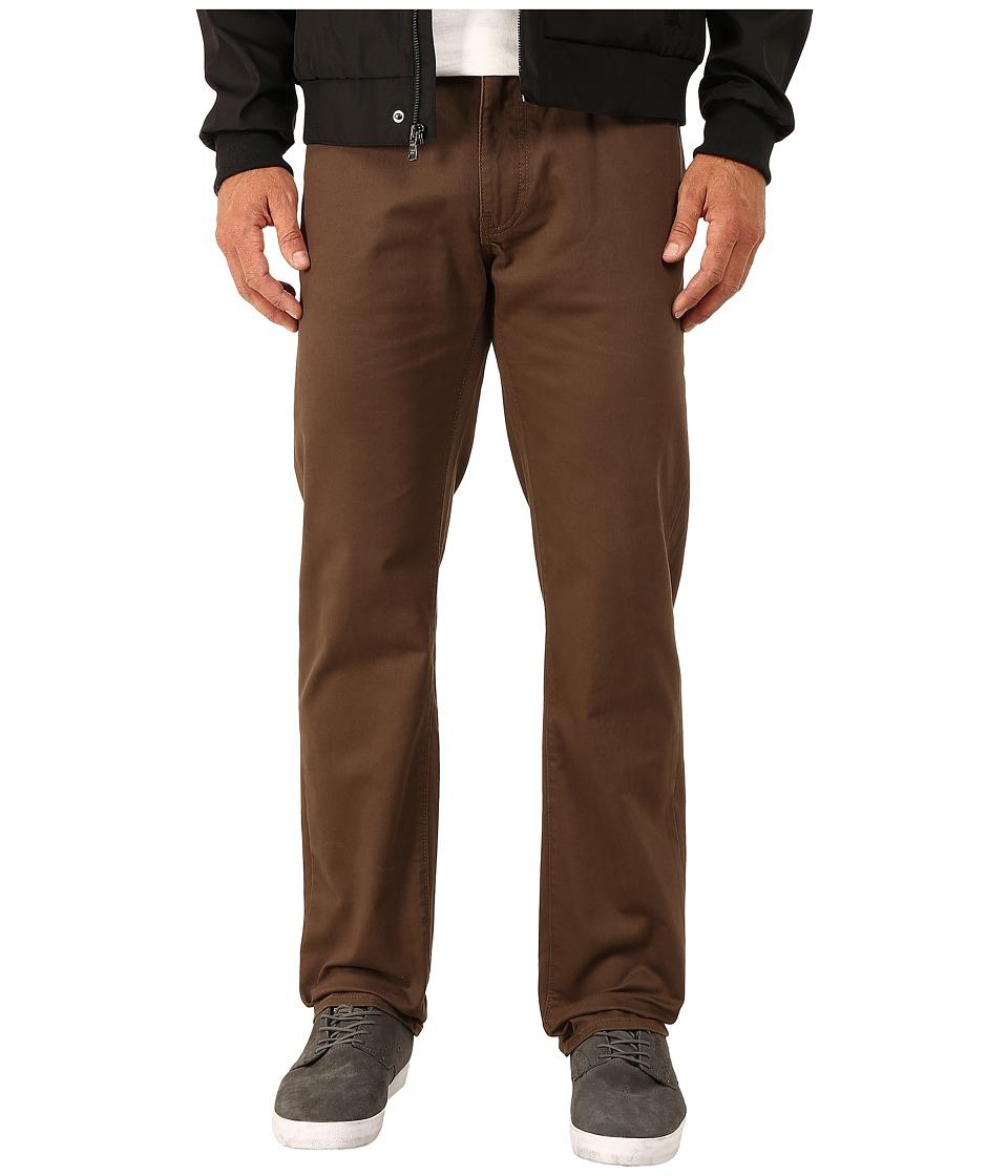 Dockers Men's - 5-Pocket Straight (Corduroy - Hazelnut) Men's Casual Pants