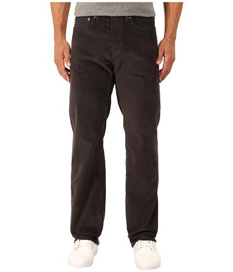 Dockers Men's - 5-Pocket Straight (Corduroy - Steelhead) Men's Casual Pants