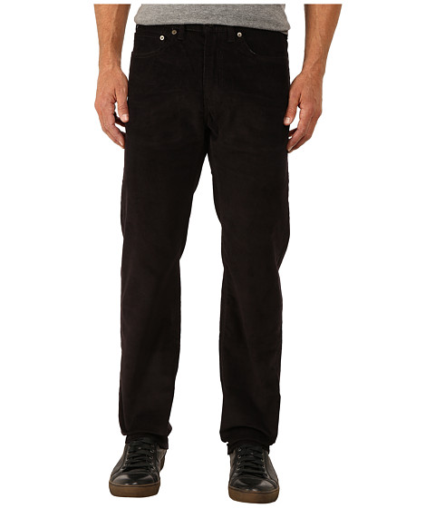 Dockers Men's - 5-Pocket Straight (Corduroy - Black) Men's Casual Pants