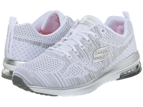 SKECHERS - Skech - Air Infinity (White) Women's Lace up casual Shoes