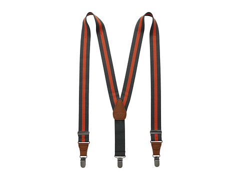 Appaman Kids - Suspenders - Single Pack (Little Kids) (Clementine Stripe) Kid
