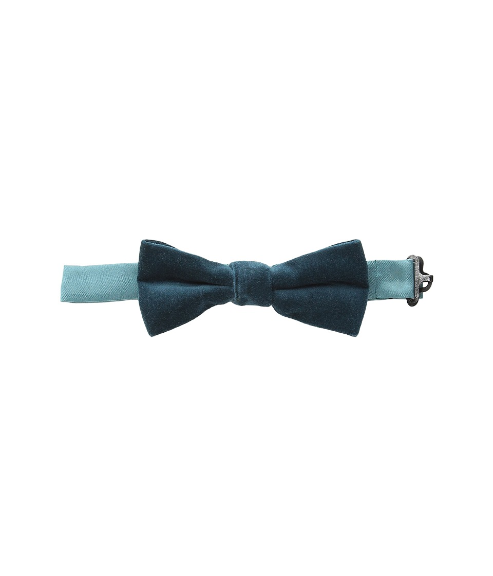 Appaman Kids - Bow Tie - Single Pack (Little Kids) (Teal Velvet) Ties