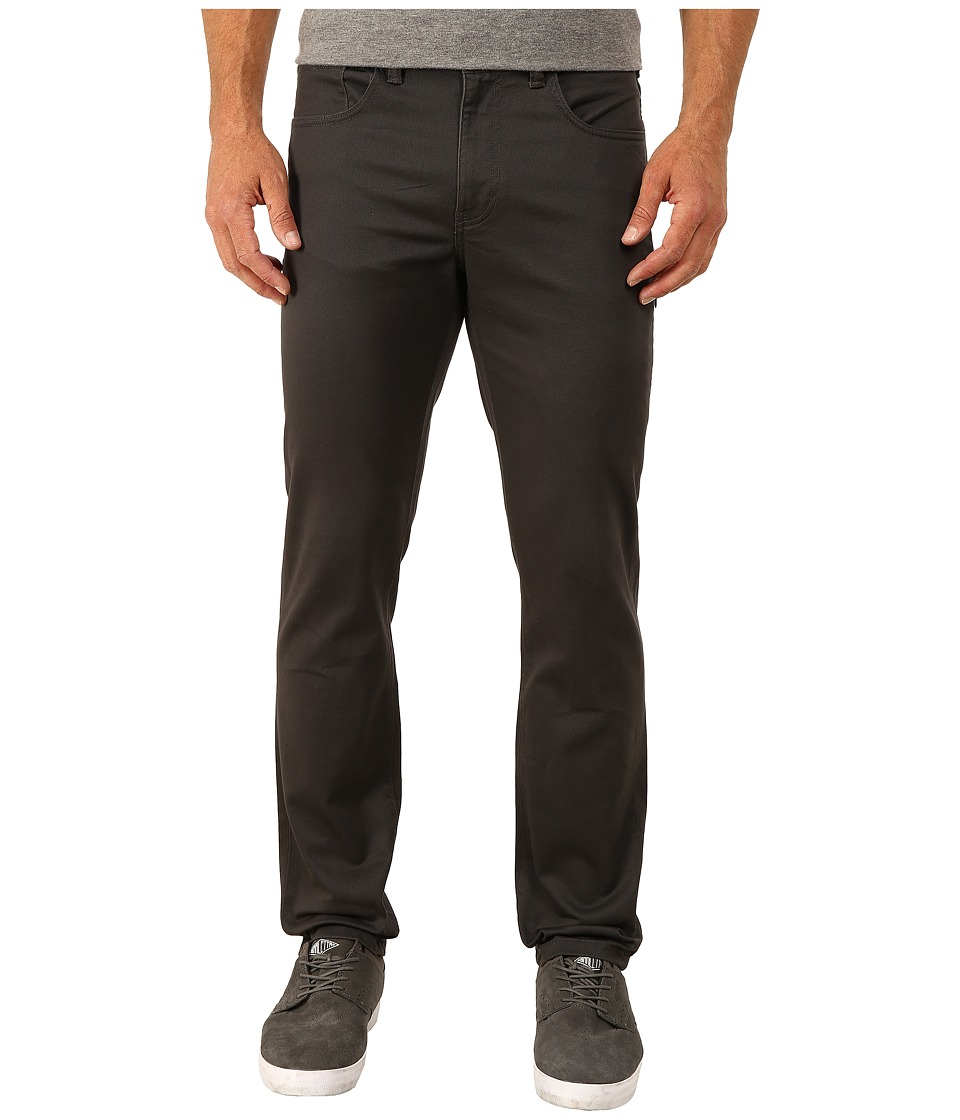 Dockers Men's - 5-Pocket On The Go (Stretch Twill - Steelhead) Men's Casual Pants