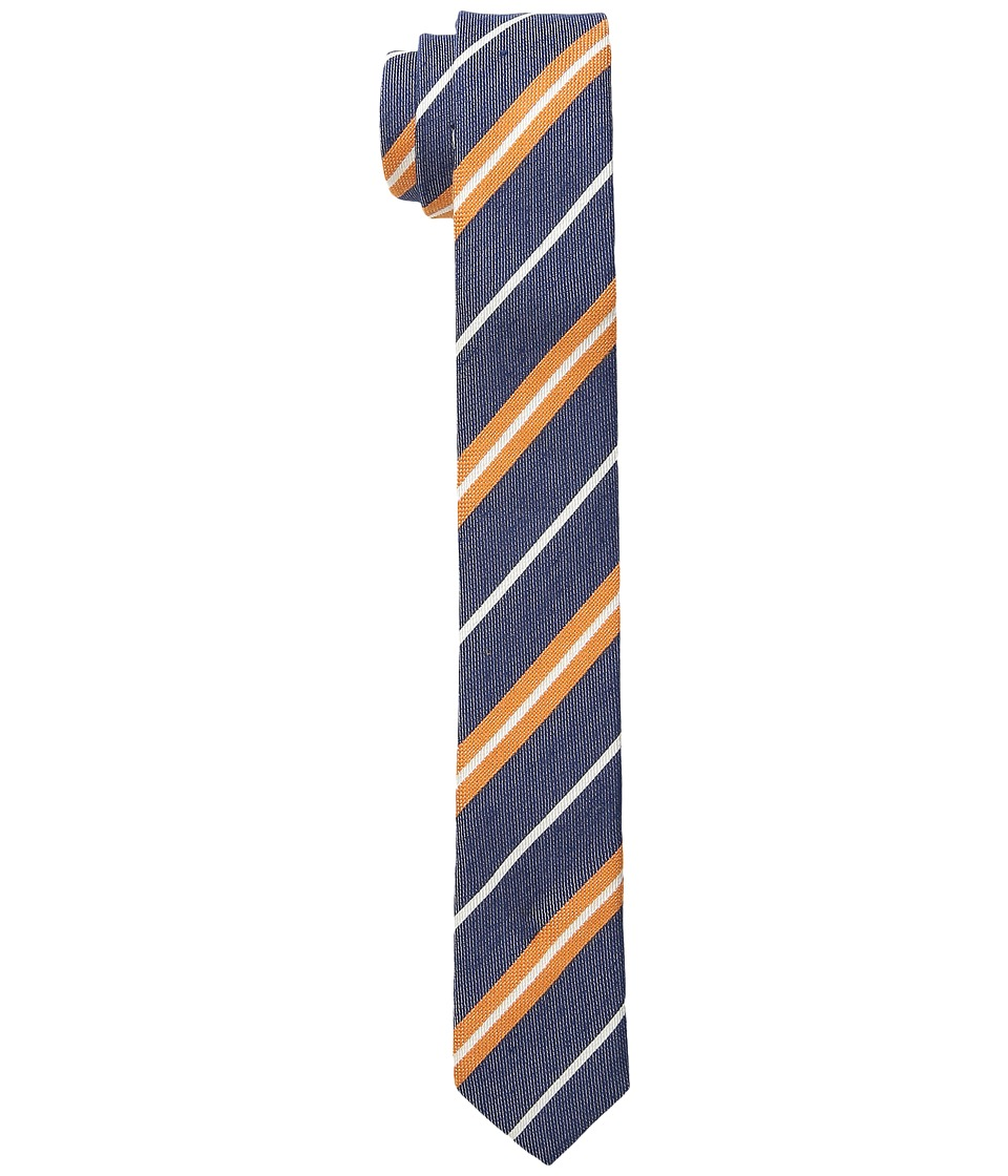 Appaman Kids - Tie - Single Pack (Little Kids) (Orange Stripe) Ties