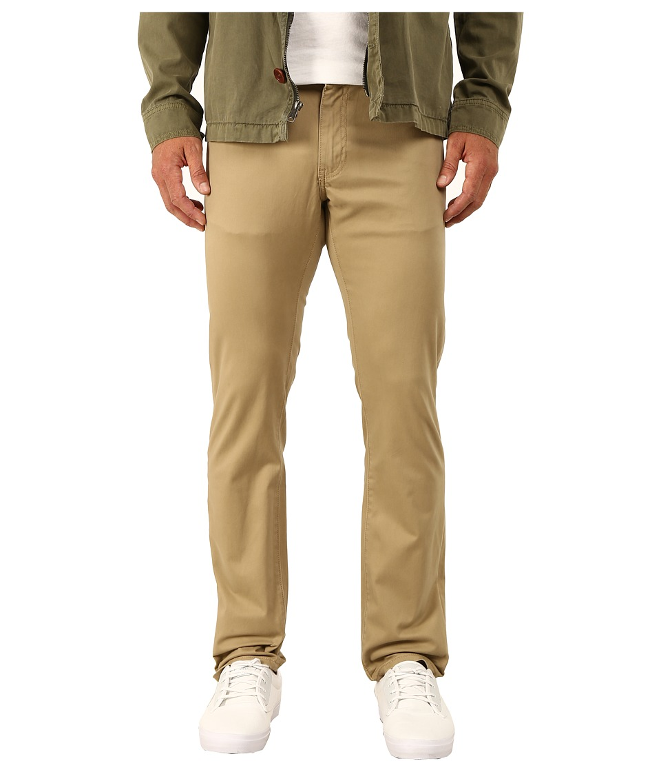 Dockers Men's - 5-Pocket Slim New Sateen (New British Khaki) Men's Casual Pants