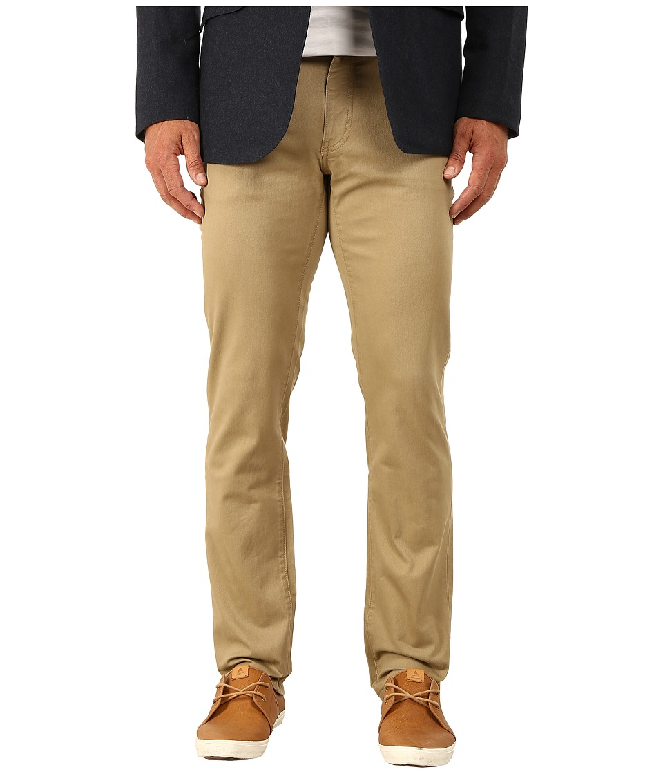 Dockers Men's - 5-Pocket Slim Stretch (New British Khaki) Men's Casual Pants