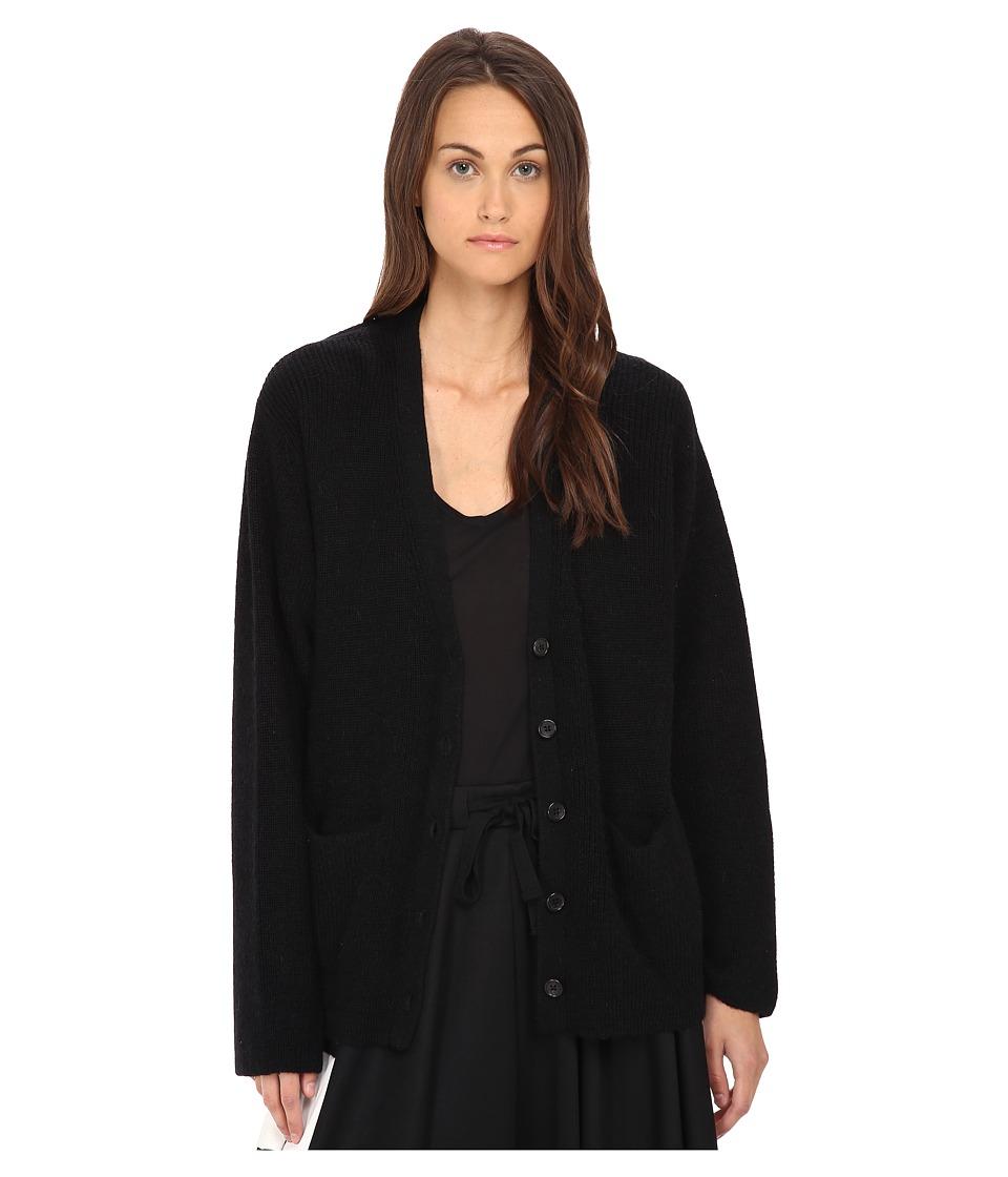 adidas Y-3 by Yohji Yamamoto - Milano Cardigan (Black) Women's Sweater