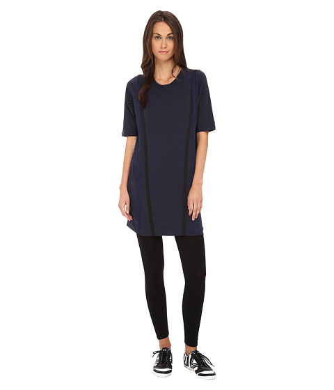 adidas Y-3 by Yohji Yamamoto - Parachute Dress (Night Navy/Black) Women's Dress