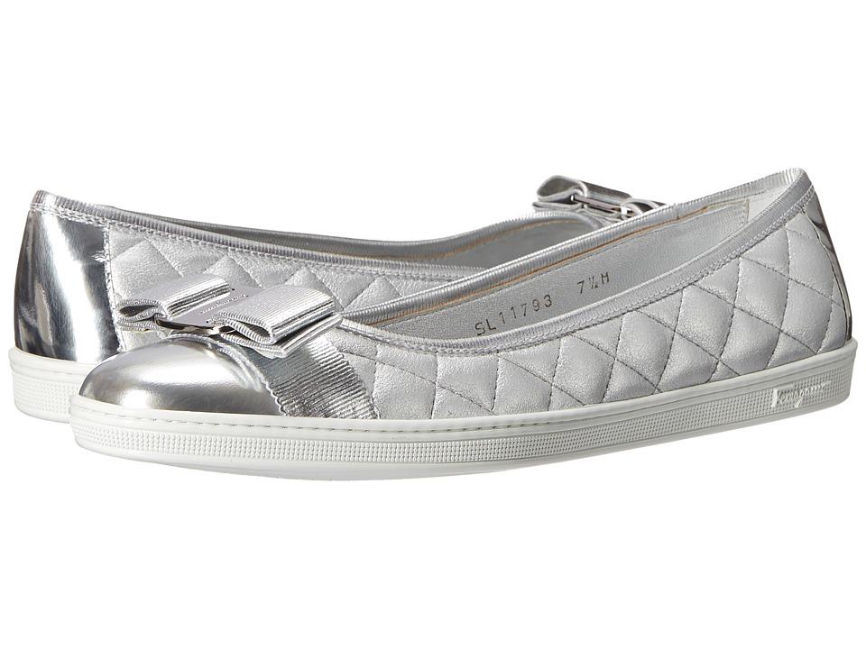 Salvatore Ferragamo - Rufina (Atlante Etoile Suede) Women's Flat Shoes