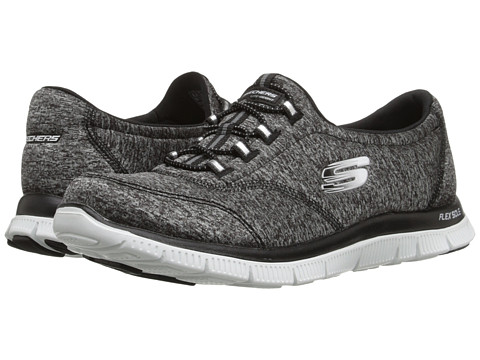 SKECHERS - Flex Appeal (Black White) Women