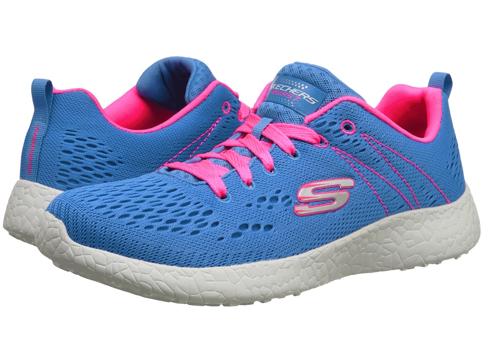 SKECHERS - Energy Burst (Periwinkle/Pink) Women's Lace up casual Shoes