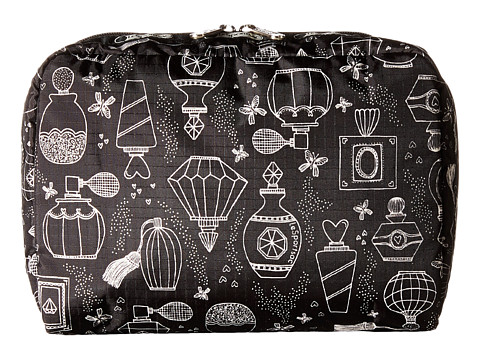 LeSportsac Luggage - Extra Large Rectangular Cosmetic (Sweet Essence Black) Cosmetic Case