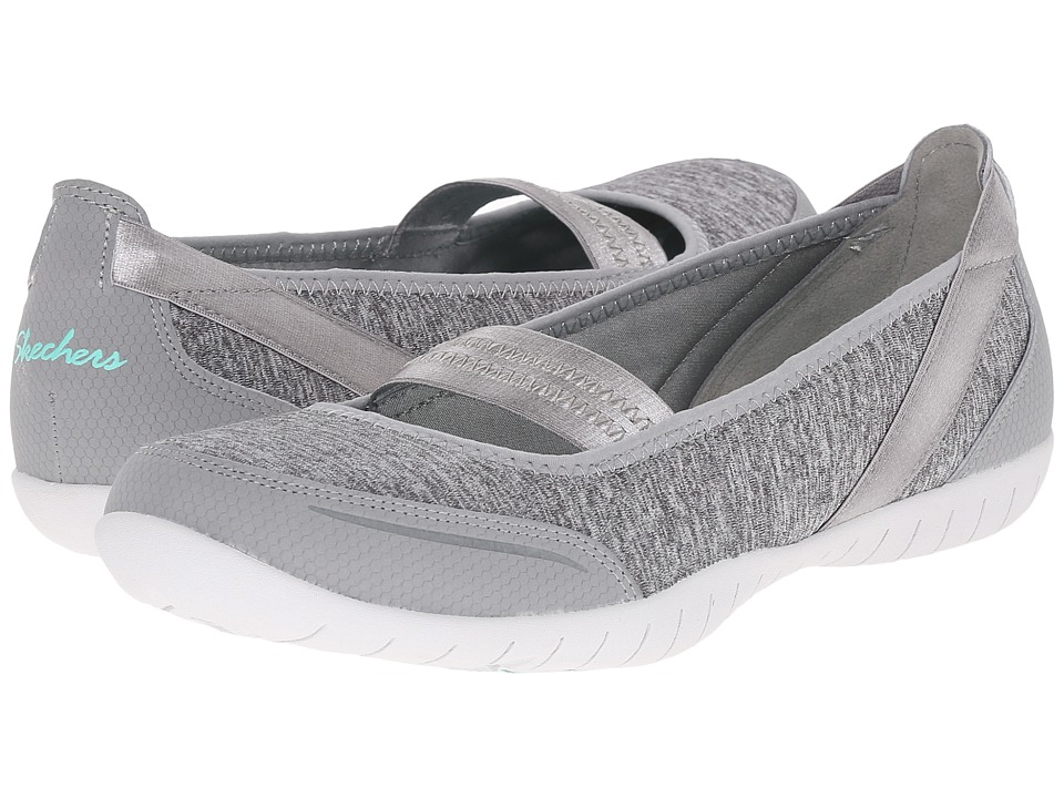 SKECHERS - Atomic - Magnetize (Gray) Women's Slip on Shoes