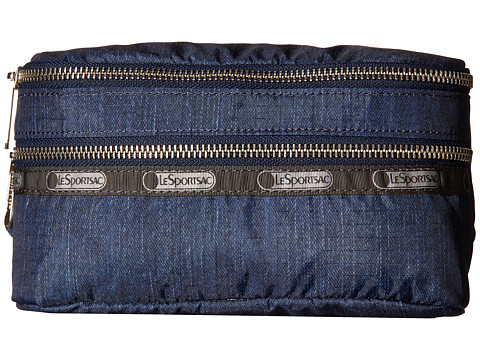 LeSportsac - Modern Double Zip Belt Bag (True Navy Denim) Bags