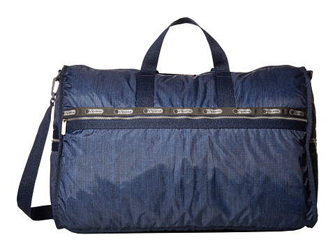 LeSportsac Luggage - Modern Extra Large Weekender (True Navy Denim) Weekender/Overnight Luggage
