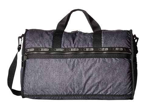 LeSportsac Luggage - Modern Large Weekender (Gunmetal Denim) Weekender/Overnight Luggage