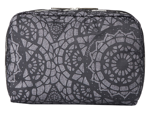 LeSportsac Luggage - Extra Large Rectangular and Square Cosmetic Combo (Lace) Cosmetic Case