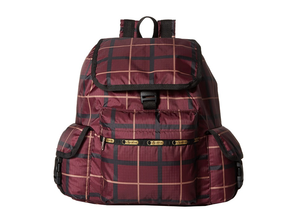 LeSportsac - Voyager Backpack (Modern Plaid) Backpack Bags