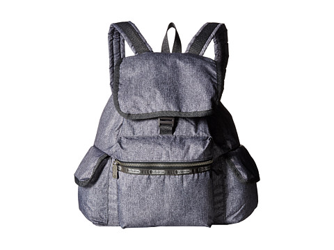 LeSportsac - Modern Voyager Backpack (Gunmetal Denim) Backpack Bags