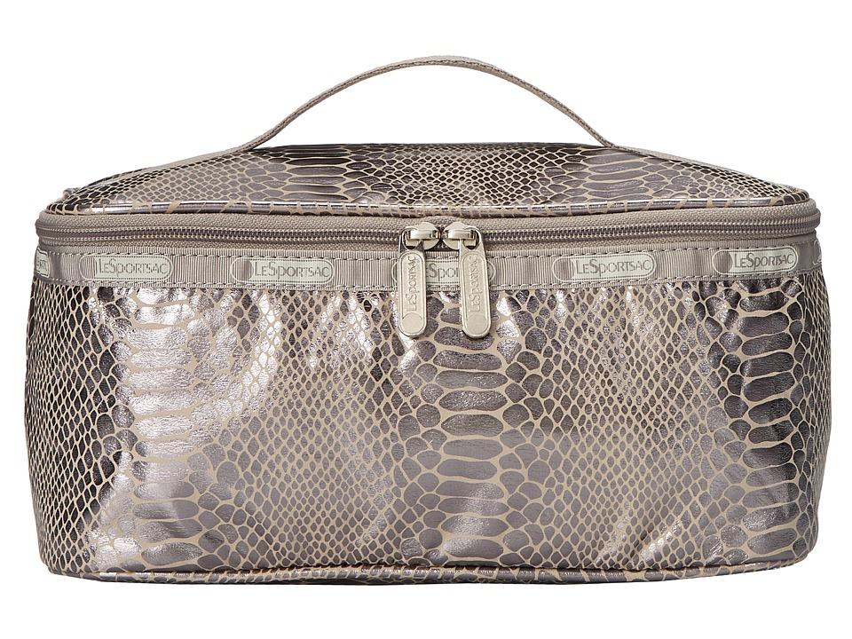 LeSportsac Luggage - Large Rectangular Train Case (Magnetic Snake) Cosmetic Case